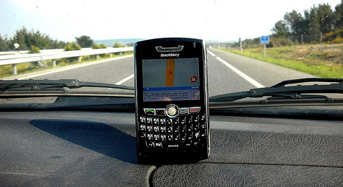 BlackBerry 8800 GPS