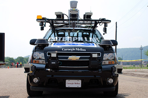 Carnegie Mellons DARPA Tahoe, Boss