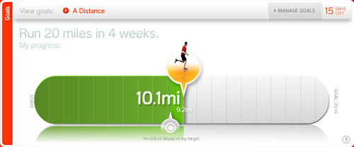 Nike+ Goal