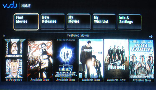 Vudu Interface