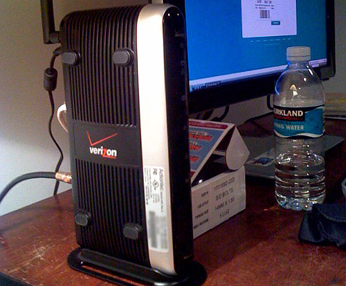 Verizon Models Model 7500 Verizon Dsl Modem/