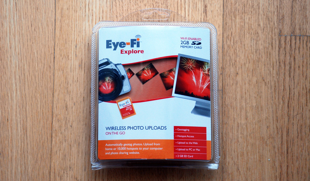 Eye-Fi Explore: Packaging
