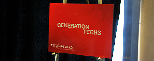 TTI/Vanguard Generation Techs Conference in Rome, Italy