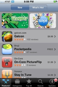 iPhone App Store