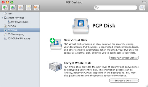 PGP Disk Encryption