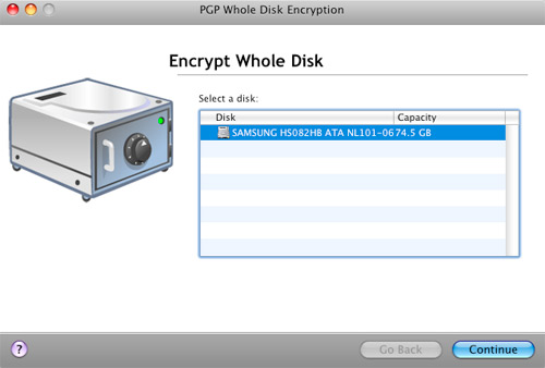 PGP Encrypt Whole Disk