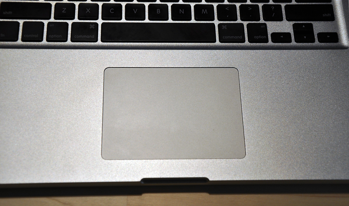 New MacBook Pro Trackpad