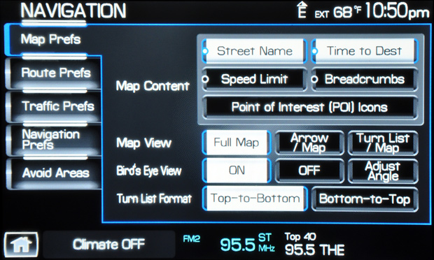 2009 Lincoln Mks Sync Nav 1