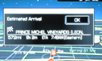 2009 Lincoln Mks Sync Nav Map 2 150x90
