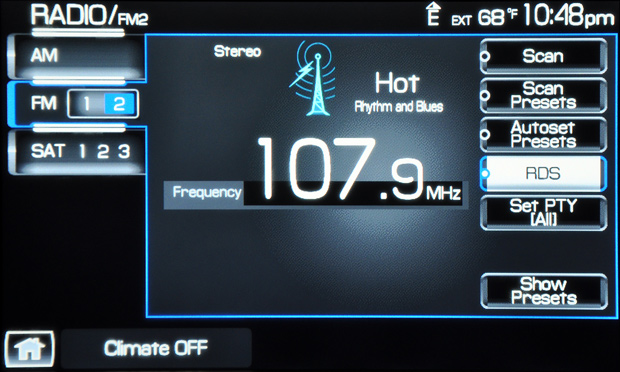 2009 Lincoln Mks Sync Radio