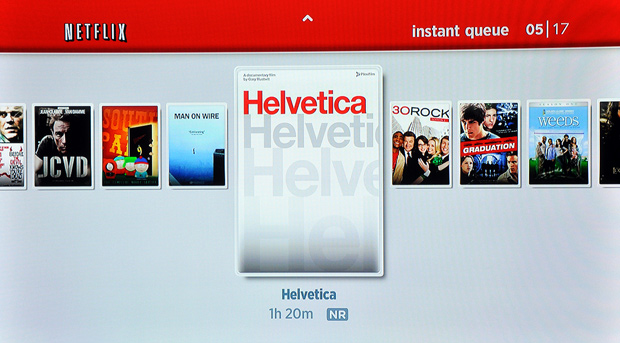 Roku Player - Browse Netflix Instant Queue