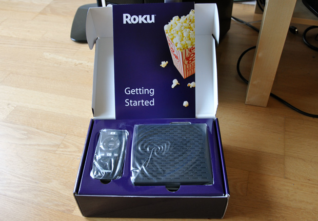 Roku Digital Video Player Unboxing