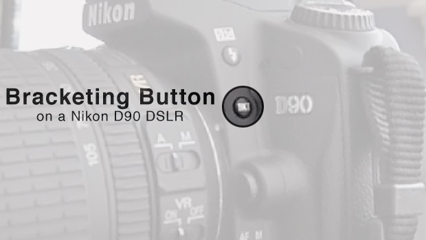 The Bracketing (BKT) Button on a Nikon D90 DSLR Camera