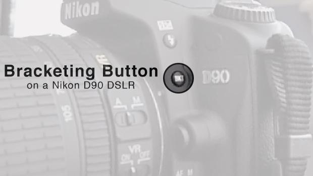 The Bracketing (BKT) Button on a Nikon D90 DSLR Camera
