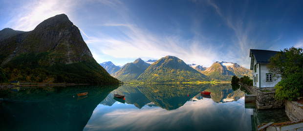 HDR Photo of Norway by Maciek Duczynski