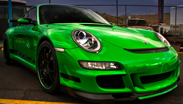 HDR Photo of Porsche GT3 RS