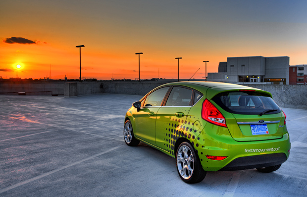 HDR of 2011 Ford Fiesta - Photomatix Pro
