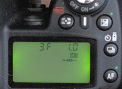 Nikon D90 Bracketing setting