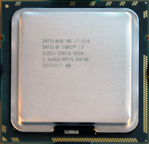 Intel Core i7 920 processor