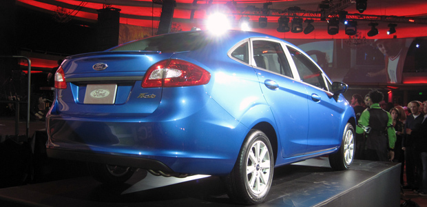 2011 U.S. Ford Fiesta Sedan Launch