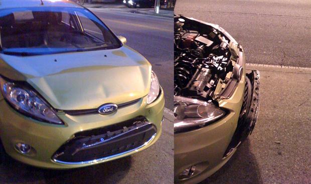 Fiesta Crash