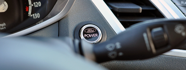 The Fiesta Power button