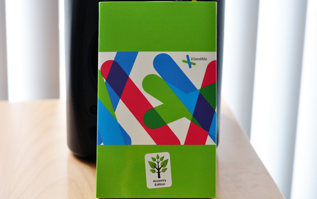 23andMe Genetic DNA testing - Ancestry Edition Box
