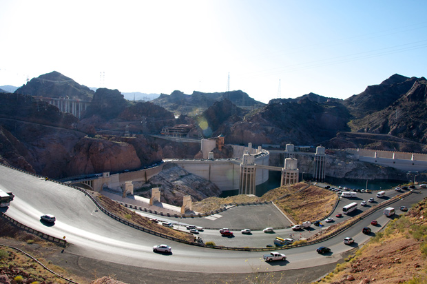 Hoover Dam in Nevada/Arizona border