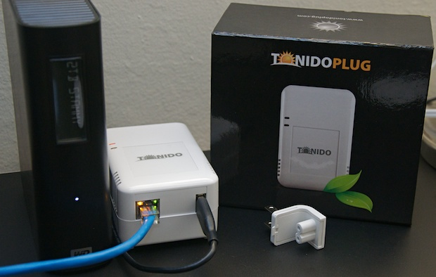 TonidoPlug complete setup with external Western Digital hard drive