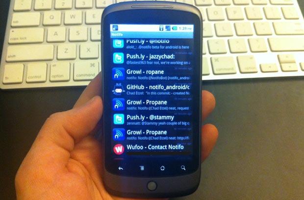 Notifo Android Beta