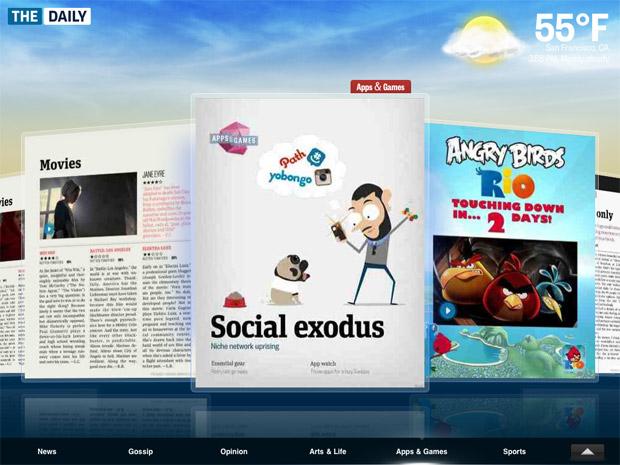 The Daily - iPad 2 News App