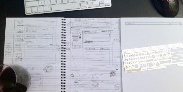Design mockups
