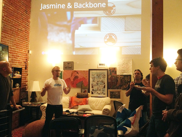 Backbonejs Hackers Meetup SF
