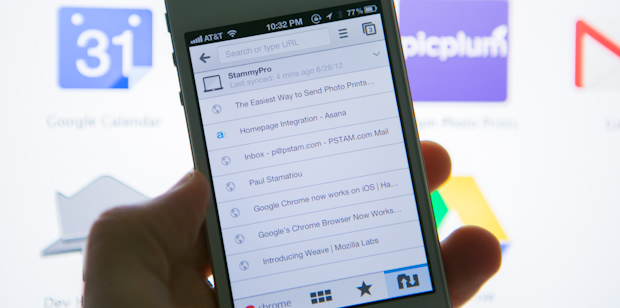 Google Chrome browser for iOS