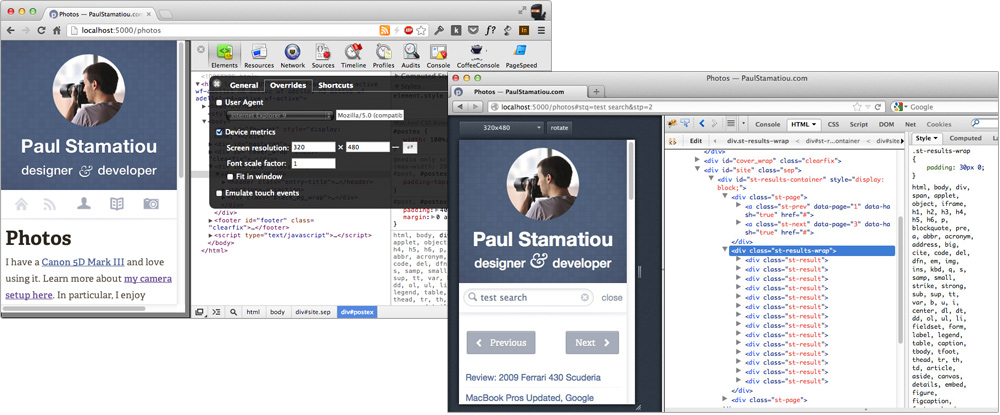 Firefox Responsive Design View