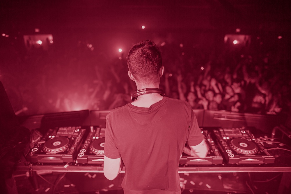 Dirty South performing at Ruby Skye, San Francisco