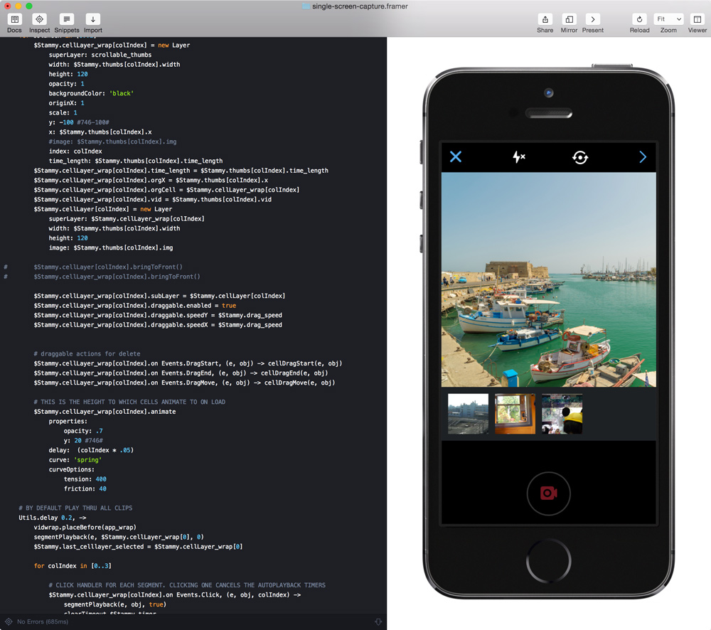 Prototyping Twitter Video in Framer