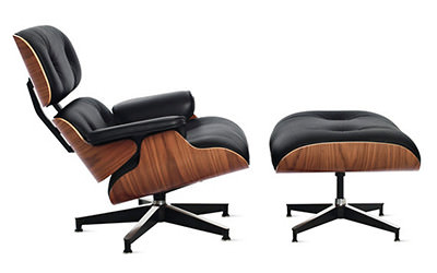 Eames Lounge and Ottoman Chair