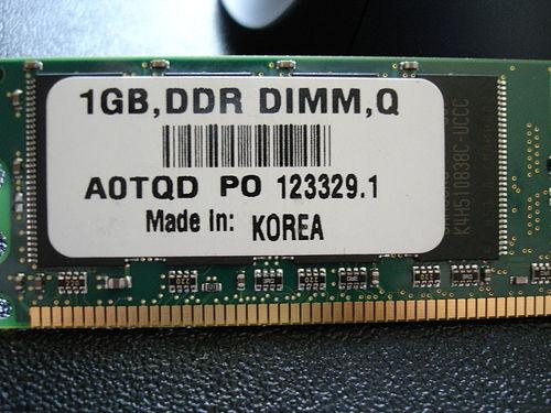 1GB DDR400 RAM
