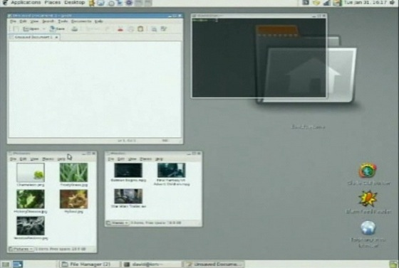 XGL Demo in Linux