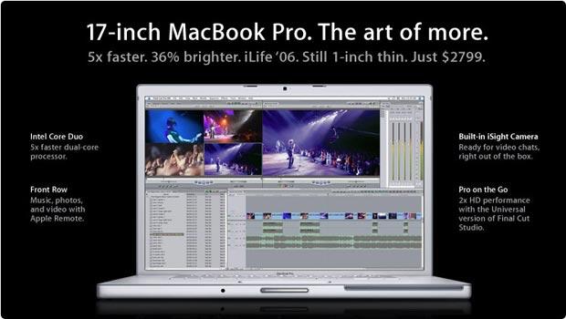 17 inch MacBook Pro