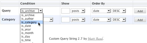 PaulStamatiou.com » WordPress Quickie: Custom Query String Plugin