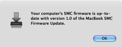 firmware update for macbook