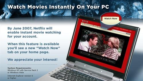 Netflix Online Viewing