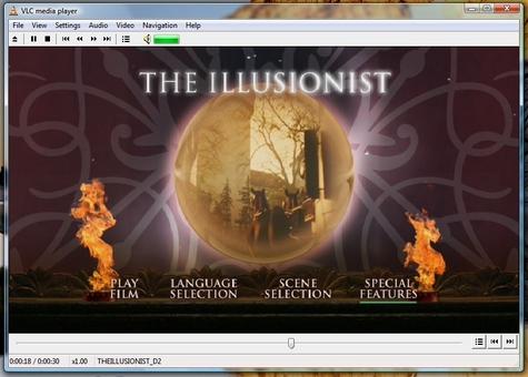Vista VLC DVD