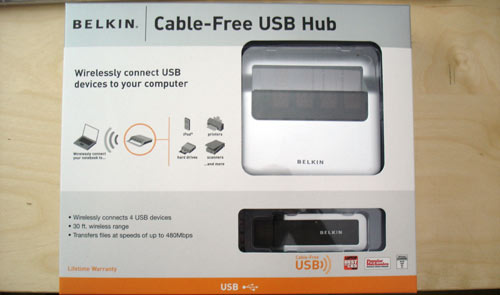Belkin's old wireless USB hub