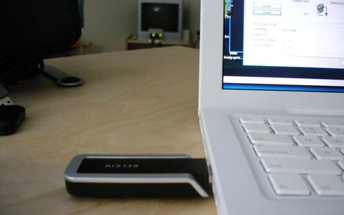 Belkin Cable-Free USB Hub setup
