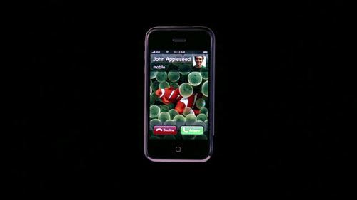 iPhone Advertisement