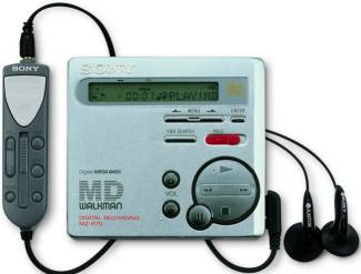 Sony Minidisc MZ-R70