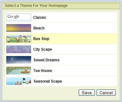 Google IG Themes